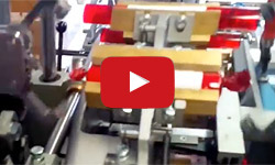Wrapping machine EZ2 with twist ending folds