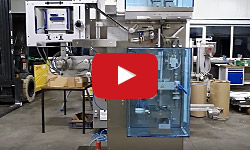 Two-lane Stick Pack machine to fill pharmaceutical powders